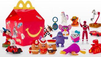 McDonald's komt met retro Happy Meal speelgoed