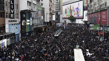 Vooraanstaande leden democratiseringsbeweging Hongkong opgepakt