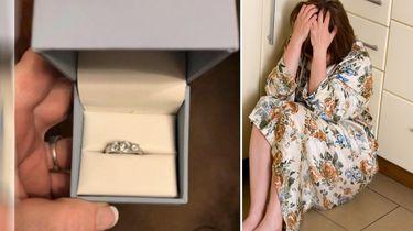 Vrouw klaagt op Facebook over haar verlovingsring