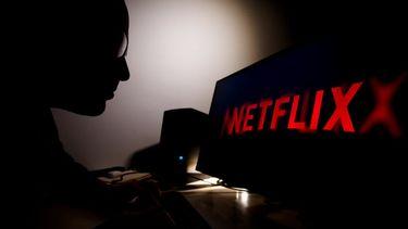 Een foto van iemand met een account van Netflix