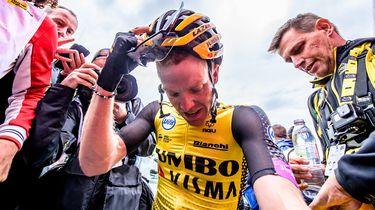 Steven Kruijswijk geeft op in Vuelta