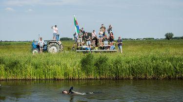 Live: Van der Weijden passeert eindpunt vorig jaar