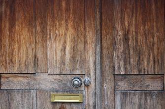 Een foto van een deurslot