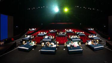 bioscoop bedden Amsterdam film