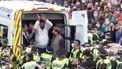 Demonstranten Glasgow Schotland protest Suikerfeest immigrant