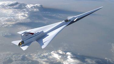 In drie uur tijd naar New York met de X-plane. / EPA