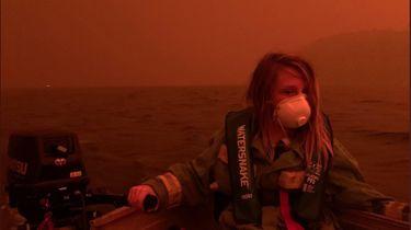 Australië kleurt zwart en rood door hevige bosbranden