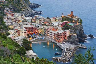 wandelen, italie, bergen, vakantie