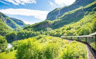 Noorwegen, treinbestemmingen, europa
