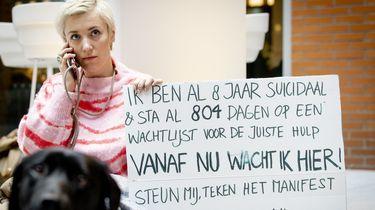 Charlotte protesteert bij ministerie voor betere Jeugdzorg en GGZ