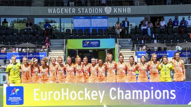 Hockeysters prolongeren titel op EK in eigen land