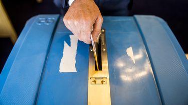 stembureau, stembiljet, verscheuren