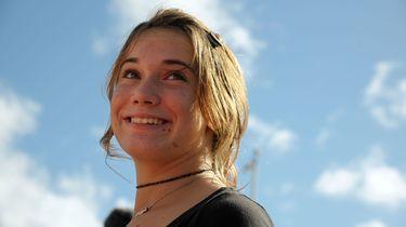Laura toen ze 16 jaar oud was. Foto: ANP