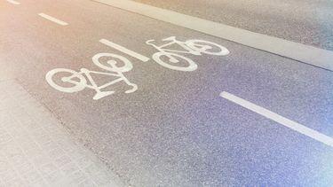 foto van fietspad