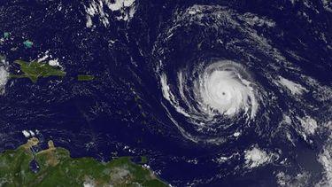 Irma neemt toe in kracht. Bron: ANP