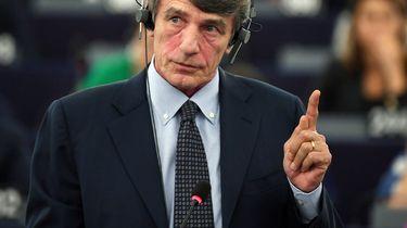 David Sassoli voorzitter Europees Parlement