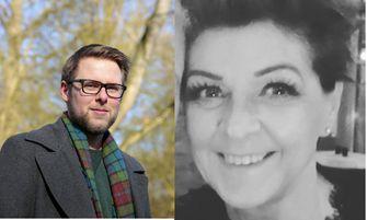 Pim Dijkgraaf (foto: Ruud Ploeg) en Karin Meijer