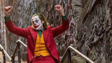 Een foto van Joaquin Phoenix als Joker