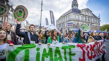 Demonstranten eisen meer klimaatverandering-actie