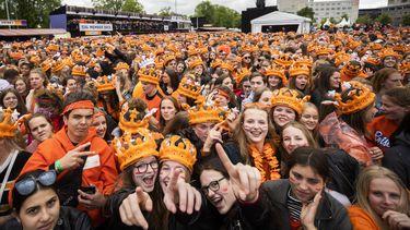 538 Oranjedag in Breda.
