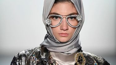 'Hoofddoek-catwalk' op New York Fashion Week
