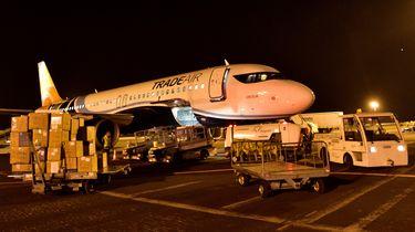 Nederland stuurde veel medische hulpmiddelen naar China.
