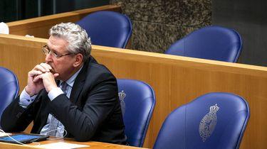 Een foto van Henk Krol in de Tweede Kamer