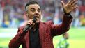 Robbie Williams was weer even samen met Take That