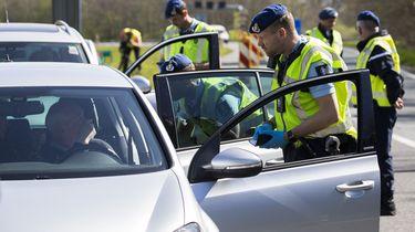 Veel Duitsers in de file door grenscontroles bij Roermond