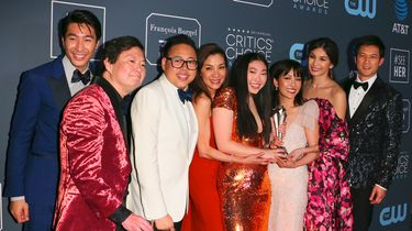 De cast van Crazy Rich Asians. Foto: ANP