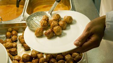 Ikea's gehaktballen blijken niet Zweeds, maar Turks. / ANP